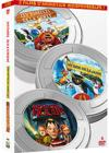 DVD &amp; Blu-ray - Coffret Animation - Les Rois De La Glisse + Les Rebelles De La Fort + Monster House