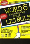 Word 6 Windows Pour Les Nuls