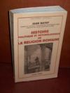 Livres - Histoire politique et psychologique de la religion romaine.