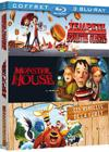 DVD &amp; Blu-ray - Tempte De Boulettes Gantes + Monster House + Les Rebelles De La Fort