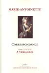Correspondance t.1 ; à Versailles (1767-1787)