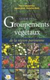 Guide Des Groupements Vegetaux