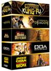 DVD & Blu-ray - Coffret Kung-Fu - L'Honneur Du Dragon + Born To Defense + Doa + Jackie Chan Dans Le Bronx