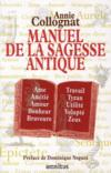 Livres - Manuel de la sagesse antique