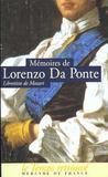 Livres - Memoires (1749-1838), Par Le Librettiste De Mozart