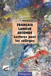 Francais langue seconde ; lectures pour colleges