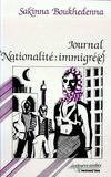 Journal nationalité : immigré(e)