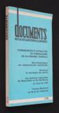 Documents, revue des questions allemandes (3e trimestre 33ème année)