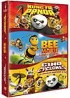DVD & Blu-ray - Kung Fu Panda + Les Secrets Des Cinq Cyclones + Bee Movie