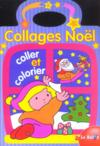 Collages Noel ; Colle Et Colorie
