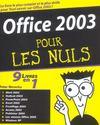 Office 2003 Pour Les Nuls ; 9 Livres En 1