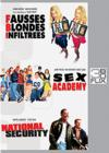DVD & Blu-ray - Flix Box - 20 - Fbi - Fausses Blondes Infiltrées + Sex Academy + National Security