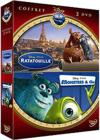 DVD &amp; Blu-ray - Ratatouille + Monstres &amp; Cie
