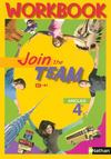Join The Team ; Anglais ; 4ème ; A2/B1 ; Workbook (Edition 2008)