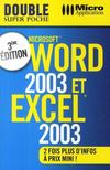 Word 2003 & Excel 2003 (3e edition)