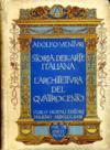 Storia dell'arte italiana, Tome 8/1 : La pittura del cinquecento.