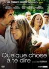 DVD &amp; Blu-ray - Quelque Chose  Te Dire