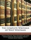 Livres - Complete Writings Of Walt Whitman