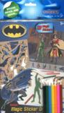 Livres - 2026 Batman magic sticker ; drawing set