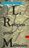 Religion pour memoire