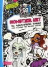 Livres - Monster high ; monster art ; des croquis a croc'quer