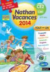Nathan Vacances ; Tout En Un ; Du Ce2 Vers Le Cm1 (Edition 2014)