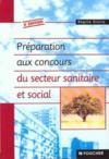 Preparation Du Concours Secteur Sanitaire Et Social