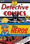 DC Comics : Rétro Héros : 3 cahiers aux couvertures mythiques