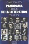 Panorama Critique Litterat. Moderne