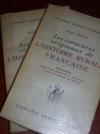 Livres - Les caractères originaux de l'histoire rurale française.