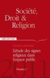 Societe, Droit & Religion N.2 ; Société, Droit & Religion T.2