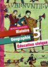 Histoire-géographie/éducation civique ; 5ème ; 48 fiches d'activités (édition 2010)