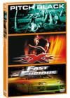 DVD & Blu-ray - Pitch Black + Xxx + Fast And Furious