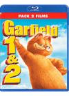 DVD &amp; Blu-ray - Garfield - Le Film + Garfield 2