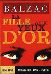 Livres - La fille aux yeux d'or