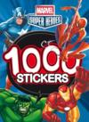 Livres - Marvel super héros ; 1000 stickers