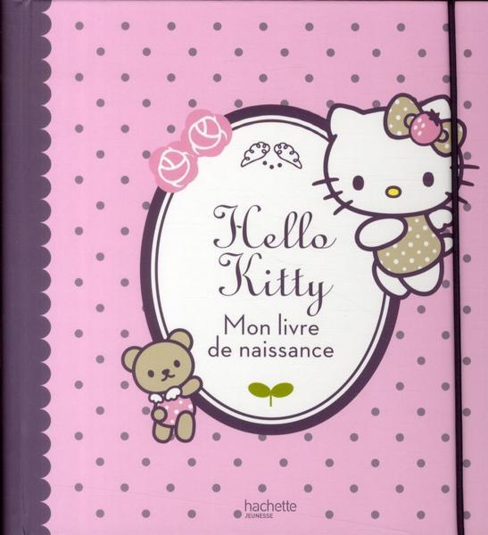 livre hello kitty mon livre de naissance collectif. Black Bedroom Furniture Sets. Home Design Ideas