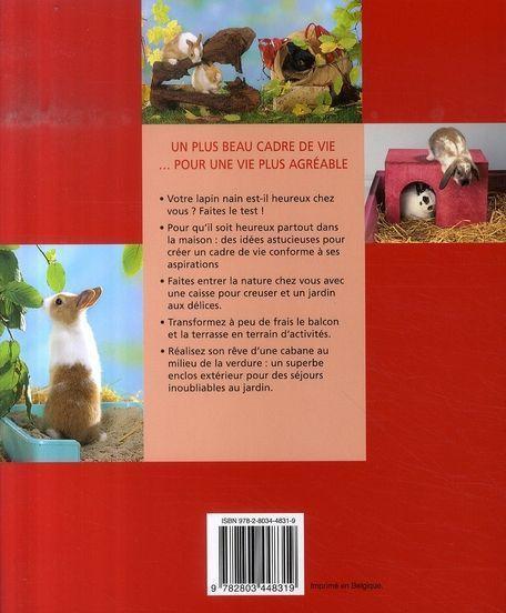 livre choyer son animal domestique les meilleurs soins pour votre lapin nain linke grun. Black Bedroom Furniture Sets. Home Design Ideas