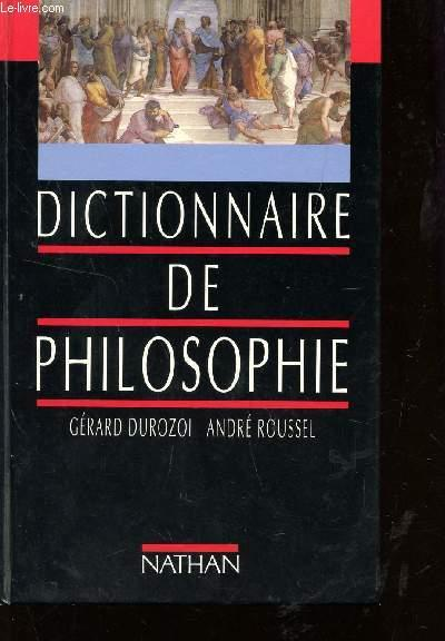 Dictionnaire De Philosophie (Edition Cartonnee)  - Collectif