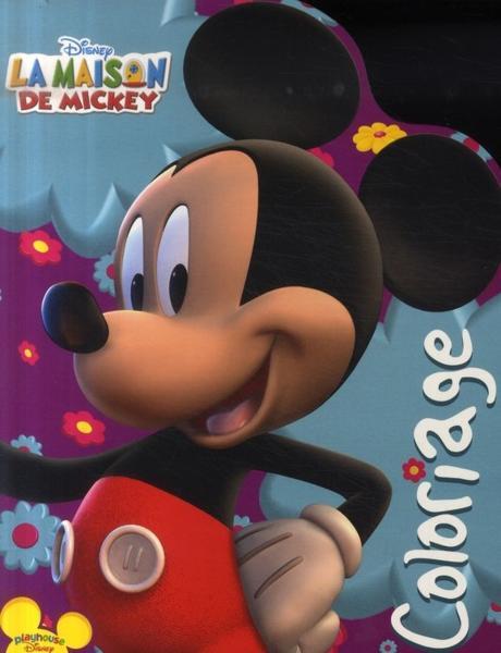 Livre la maison de mickey coloriage collectif - Coloriage maison de mickey ...