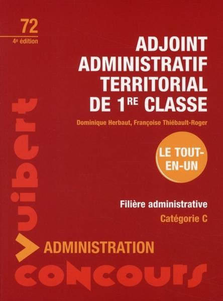 Livre adjoint administratif territorial de 1 re classe - Grille indiciaire adjoint administratif ere classe ...
