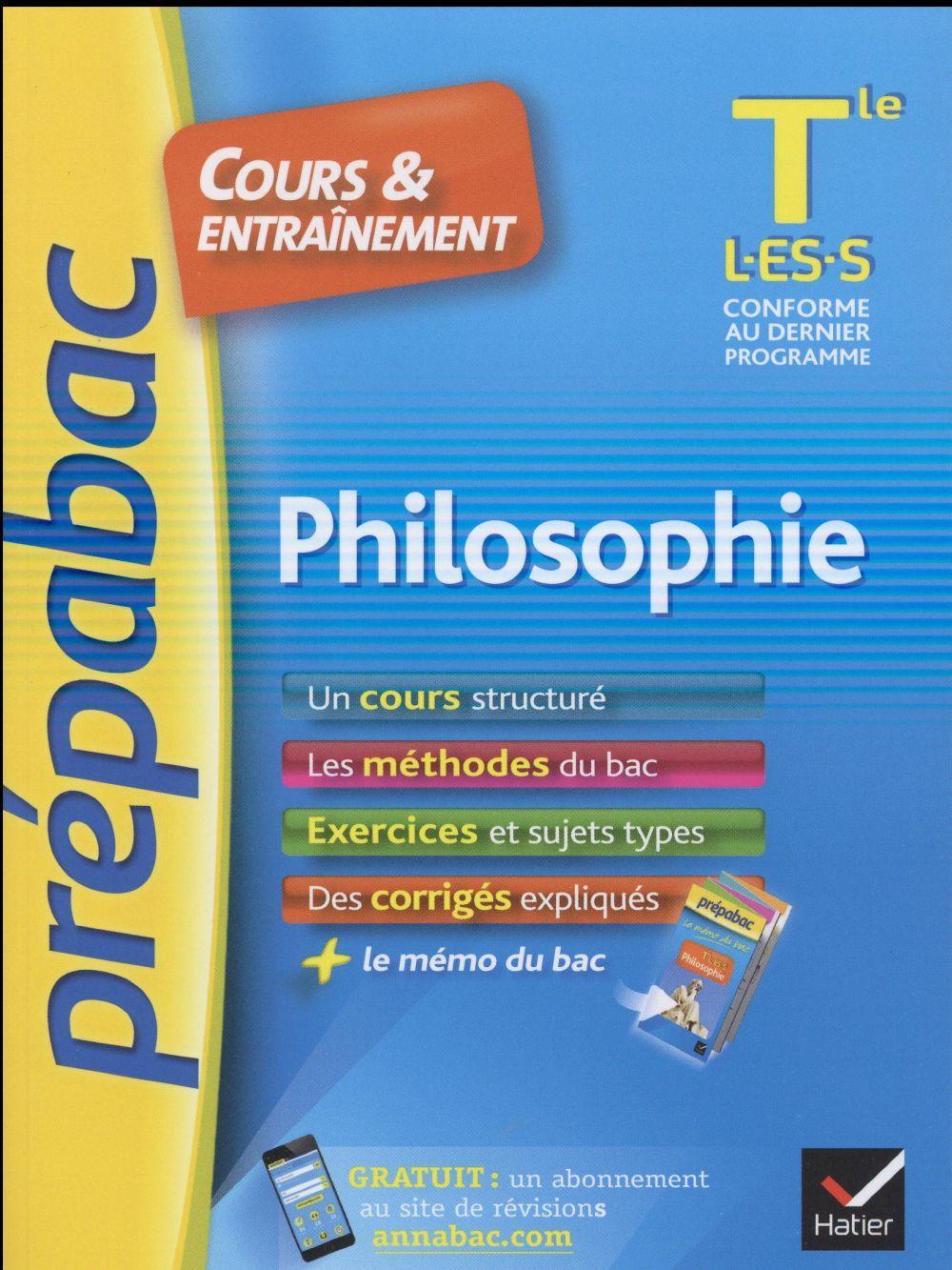 Dissertation terminale philo