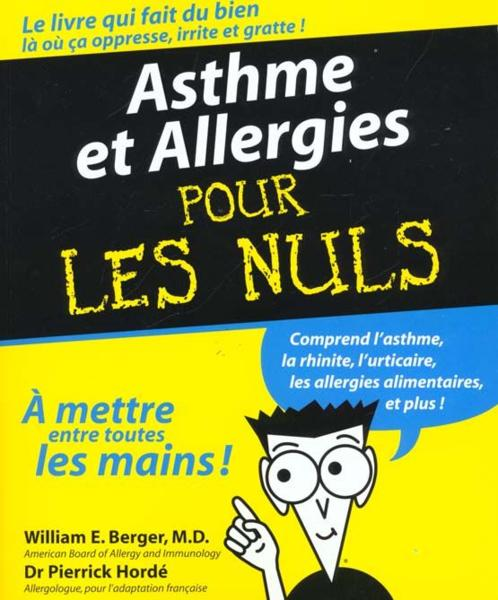 livre asthme et allergie pour les nuls william e. Black Bedroom Furniture Sets. Home Design Ideas