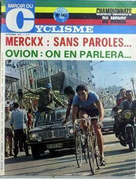 Presse miroir du cyclisme n 147 du 01 09 1971 for Miroir du ciclisme
