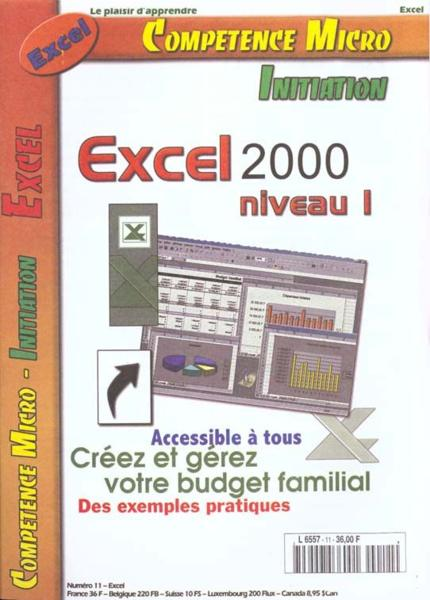 Competence Micro ; Excel 2000 Niveau 1 Cpm  - Collectif