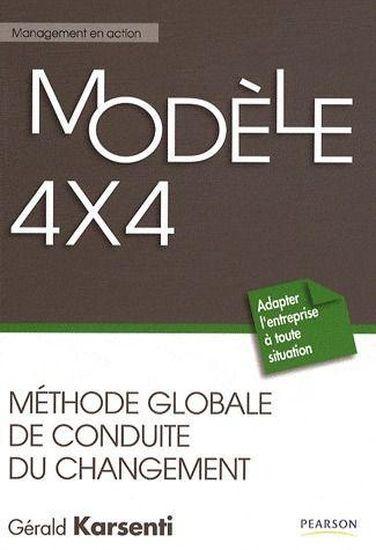 livre - modele 4x4   methode globale de conduite du changement