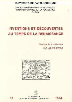 Inventions et decouvertes  - Jones-Davies Marie-T