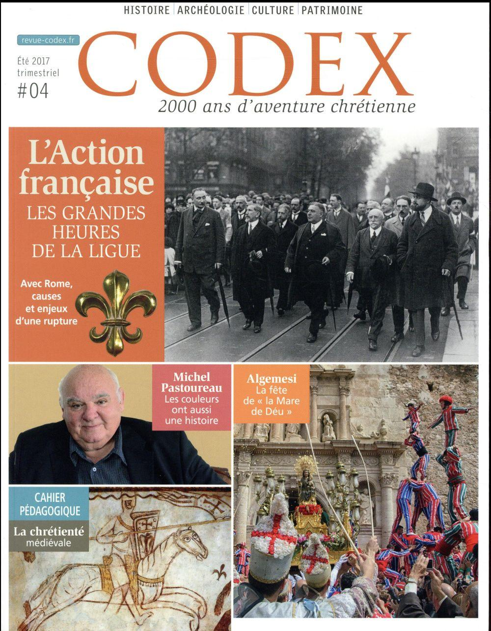 Codex N.4 ; l'Action française  - Codex