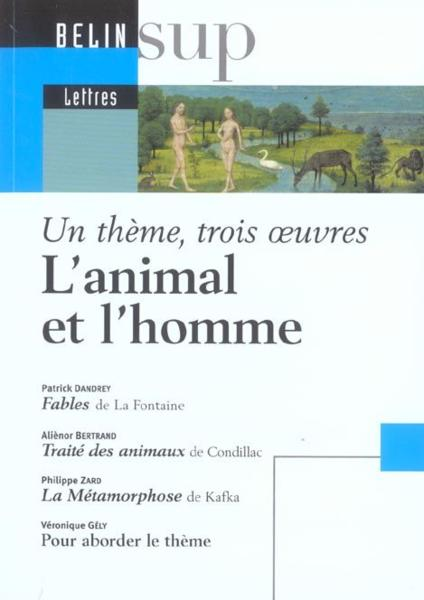L'animal et l'homme  - Collectif  - Bertrand/Dandrey