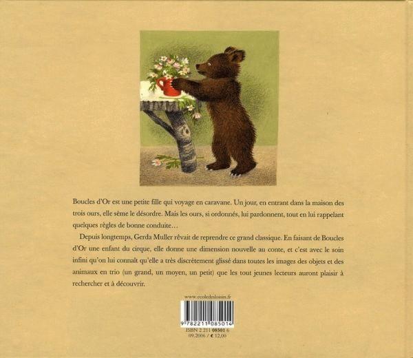 boucle d or et les trois ours pdf